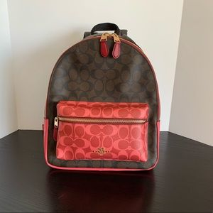 NWT COACH MEDIUM CHARLIE BACKPACK MSRP $398